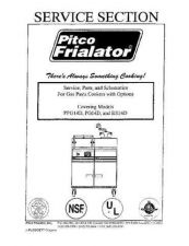 Buy Pitco RS14D RS-14D Service Manual by download Mauritron #328817