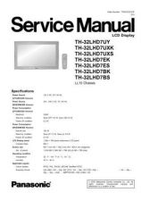 Buy Panasonic TH-32LHD7UY Manual by download Mauritron #302326