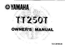Buy Yamaha 1LN-28199-20 Motorcycle Manual by download #333923