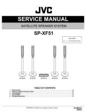 Buy JVC SP-XF51 Service Manual by download Mauritron #276673