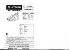 Buy Hitachi VME575LE- Service Manual by download Mauritron #286907