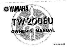 Buy Yamaha 2KA-28199-71 Motorcycle Manual by download #333990