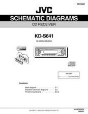 Buy JVC KD-S641-11 Service Manual by download Mauritron #282148