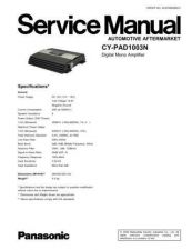 Buy Sharp CY-PAD1003N Manual by download Mauritron #298227