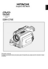 Buy Hitachi DZMV350E_FR Service Manual by download Mauritron #290029