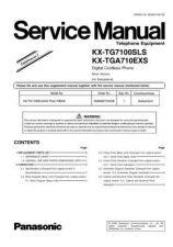 Buy Panasonic KX-TG1100PDS Manual by download Mauritron #300435