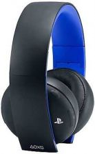 Buy Sony PS4 Playsation 4 Gold Wireless Stereo Headset BLACK Vita PS3 New