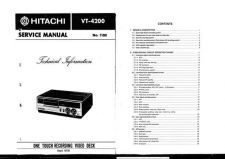Buy Hitachi VTF350A Service Manual by download Mauritron #285675