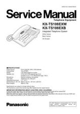 Buy Panasonic TS108EX_3 Manual by download Mauritron #302411