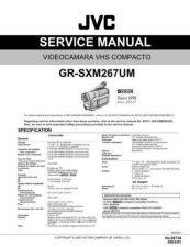 Buy JVC GR-SXM267UM Service Manual by download Mauritron #279340