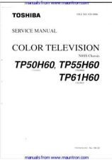 Buy Toshiba TP50H60 Service Manual Manual by download Mauritron #312694