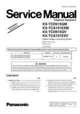 Buy Panasonic KX-TCA151EM-------- Manual by download Mauritron #299855