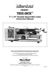 Buy Micromark 84631lathe Operating Guide by download Mauritron #332303