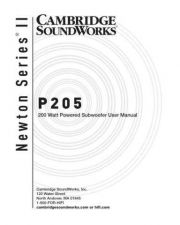 Buy Cambridge Soundworks B2tBGUzH8OS User Guide by download #334606