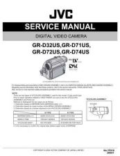 Buy JVC GR-D72US Y 32US Service Manual by download Mauritron #279123