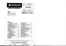 Buy Hitachi VM5300A Service Manual by download Mauritron #291000
