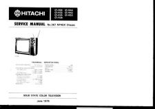 Buy Hitachi CT1947 Service Manual by download Mauritron #289470