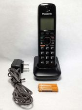 Buy PANASONIC KX TGA660 B HANDSET w/REMOTE charging base PSU - cordless phone TG6641