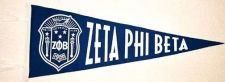 Buy Zeta Phi Beta Felt Pennant