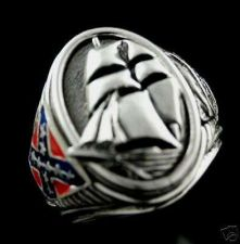 Buy CSS Alabama Commemorative naval Ring Sterling Silver