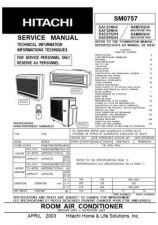 Buy Hitachi RAM80QH4_FR Service Manual by download Mauritron #286113