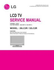 Buy LG 26LC2R Television Service Manual by download Mauritron #322068