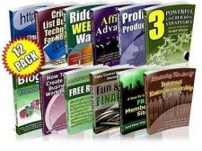 Buy PRIVATE LABEL GOLDMINE 12 PDF EBOOKS WITH PLR RESELL RIGHTS
