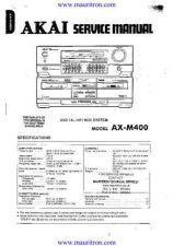 Buy AKAI. AXM400 Manual by download Mauritron #319612