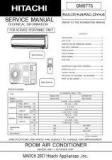 Buy Hitachi RAS18GH4 RAC18GH4 Service Manual by download Mauritron #286136