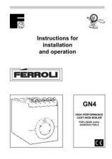 Buy FERROLI GN4 INST by download Mauritron #324258