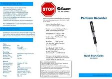 Buy Swann PENCAM 29-09-08 Instructions by download #336440