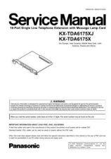 Buy Panasonic TDA6175XJ Manual by download Mauritron #302227