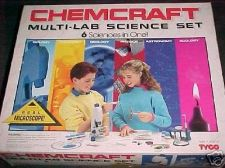 Buy ChemCraft - 6 sciences in 1 - microscope complete lab box set teaching education