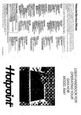 Buy Hotpoint HB6441 Operating Guide by download Mauritron #312041