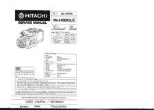 Buy Hitachi VM-E53A Service Manual by download Mauritron #286868