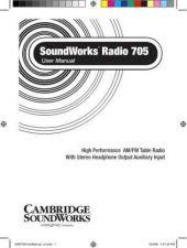 Buy Cambridge Soundworks 92PE42KpUNL User Guide by download #334595