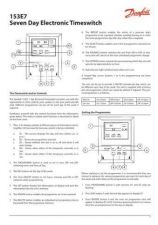 Buy Danfoss 153E7 Operating Guide Instructions by download Mauritron #328204