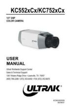 Buy Ultrak KC552xCx Operating Guide by download Mauritron #328058