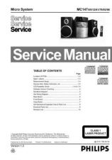 Buy Philips MC147 Service Manual by download Mauritron #325642