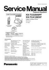 Buy Panasonic KX-TCA122EXS[]-] Manual by download Mauritron #299725