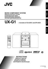 Buy JVC UX-G1-26 Service Manual by download Mauritron #277064