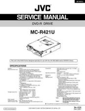 Buy JVC MC-R421U Service Manual by download Mauritron #282783