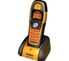 Buy Uniden DWX207 Cordless Handset base w/PSU DECT 6.0 1.9GHz Waterproof submersible