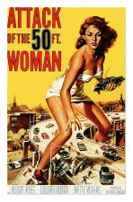 Buy 50 ft Woman Movie on canvas. unframed