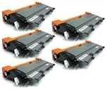 Buy 5 Pack Brother TN450 Set of Five Compatible Cartridges, Compatible