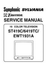 Buy Emerson 6419TC Service Manual by download Mauritron #330530