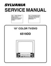 Buy Emerson 6519DD Service Manual by download Mauritron #330571