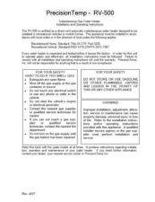 Buy Honeywell Precisionrv500 Manual by download Mauritron #317950
