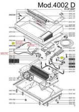 Buy Office Equipment IDEAL 4002 D SHREDDER PARTS by download #335538