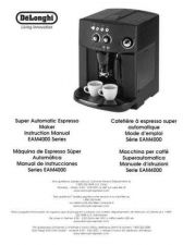 Buy De Longhi EAM4000 Expresso Machine Operating Guide by download Mauritron #316379